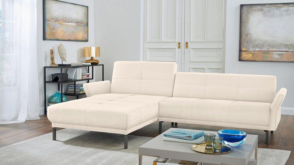 hülsta sofa Polsterecke »hs.410« mit verstellbaren Arm- und ...