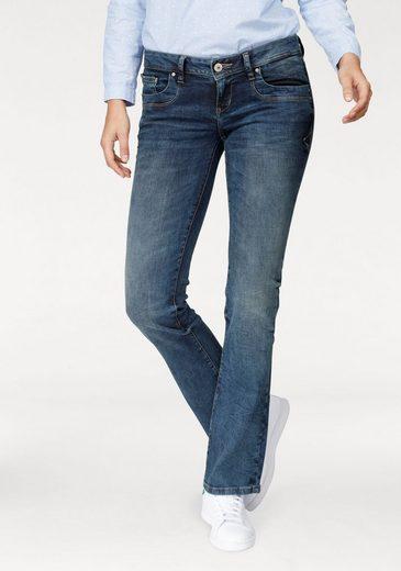 LTB Bootcut-Jeans VALERIE, mit coolen Used-Effekten