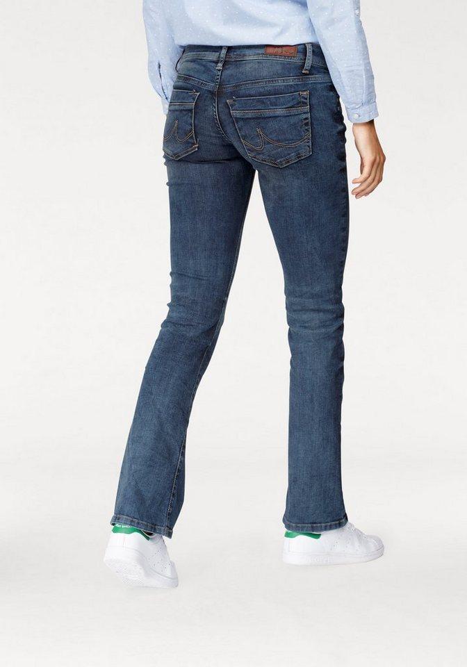 ltb bootcut jeans valerie mit coolen used effekten. Black Bedroom Furniture Sets. Home Design Ideas