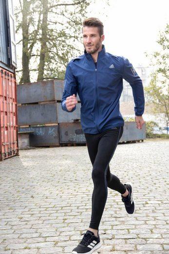 adidas Performance Laufjacke RESPONSE WIND JACKET MEN, mit praktischer Reißverschlusstasche