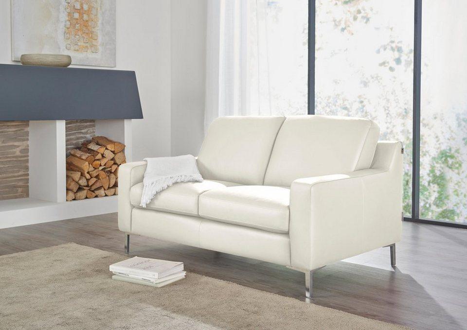 W.SCHILLIG 2-Sitzer Ledersofa »lazy« online kaufen | OTTO