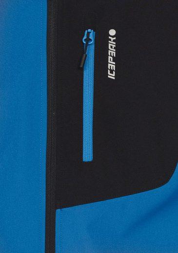 Icepeak Softshelljacke PENT, aus wasser- & winddichtem Material