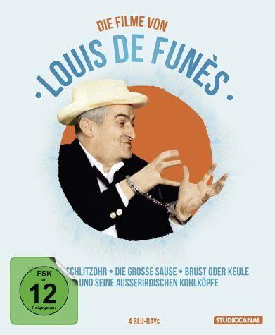 Blu-ray »Louis de Funès Edition (4 Discs)«