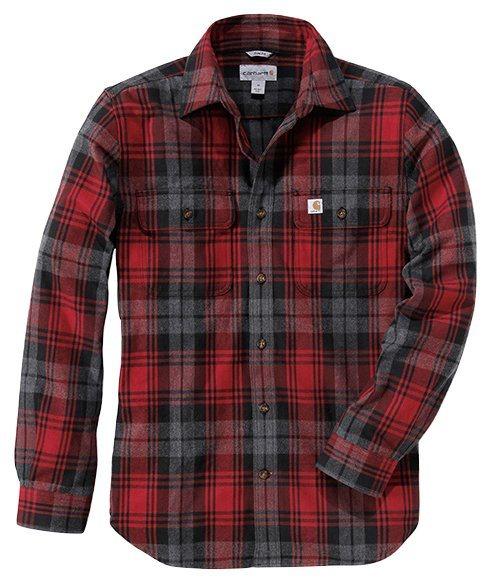 CARHARTT Hemd »Hubbard Slim Fit Flannel Shirt dkri« online kaufen   OTTO c949010f8f