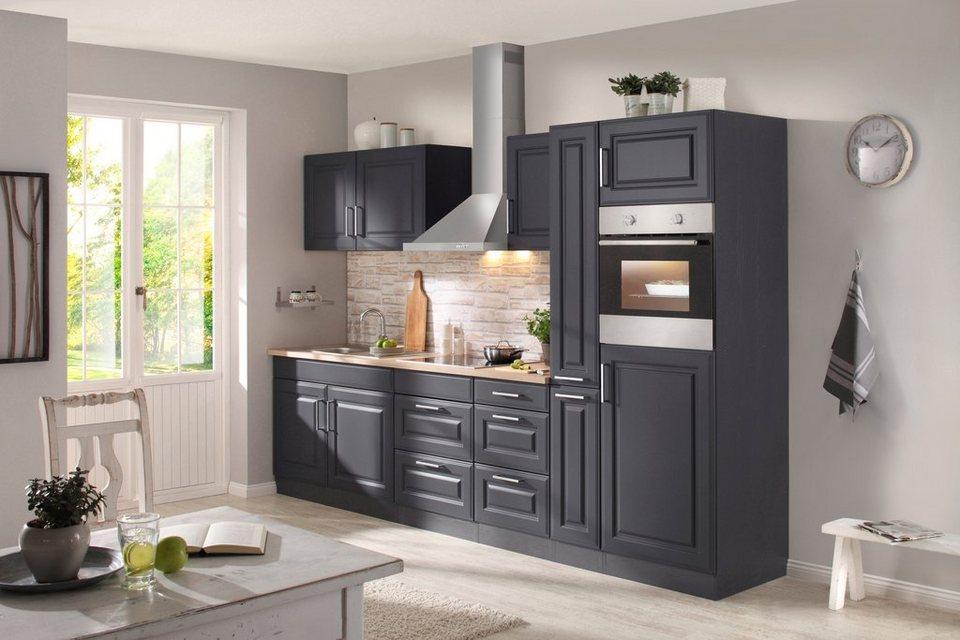 held m bel k chenzeile mit e ger ten stockholm 300 cm online kaufen otto. Black Bedroom Furniture Sets. Home Design Ideas