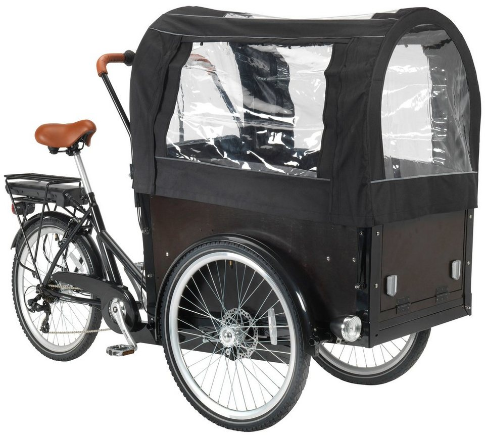 greenstreet e bike dreirad e cargo inkl kinder. Black Bedroom Furniture Sets. Home Design Ideas