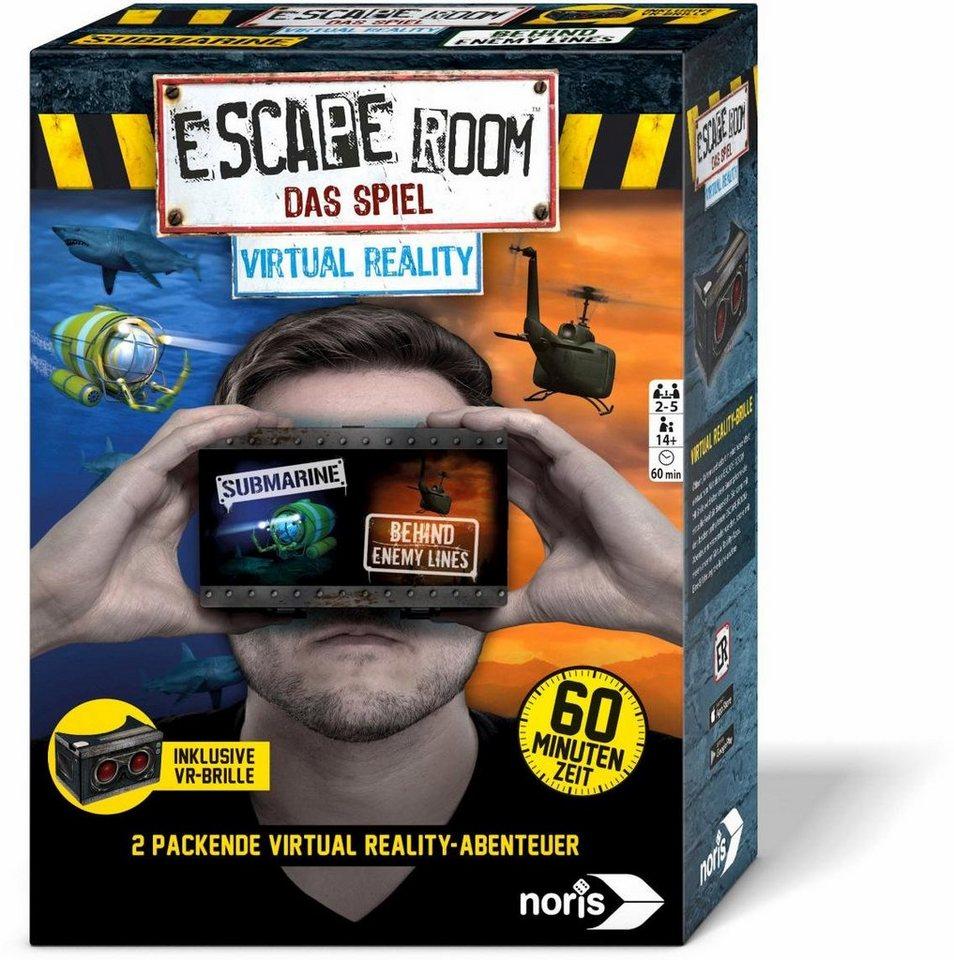 Noris Gesellschaftsspiel,  Escape Room: Virtual Reality  online kaufen