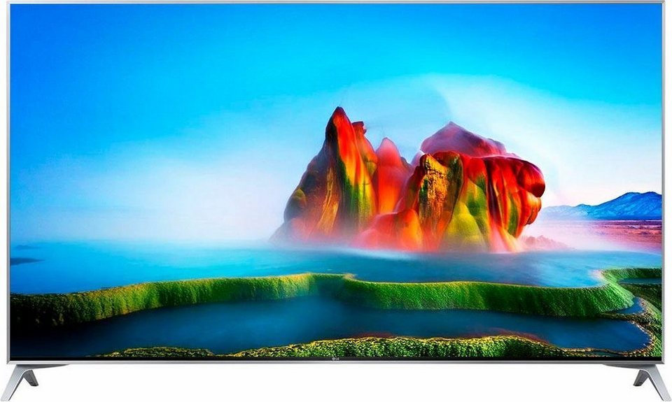 lg 55sj800v led fernseher 139 cm 55 zoll 4k ultra hd smart tv online kaufen otto. Black Bedroom Furniture Sets. Home Design Ideas