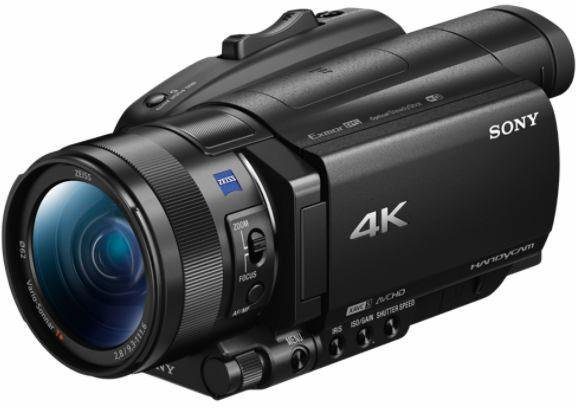 Camcorder - Sony »FDR AX700« Camcorder (NFC, 12x opt. Zoom, Exmor RS CMOS Sensortyp)  - Onlineshop OTTO