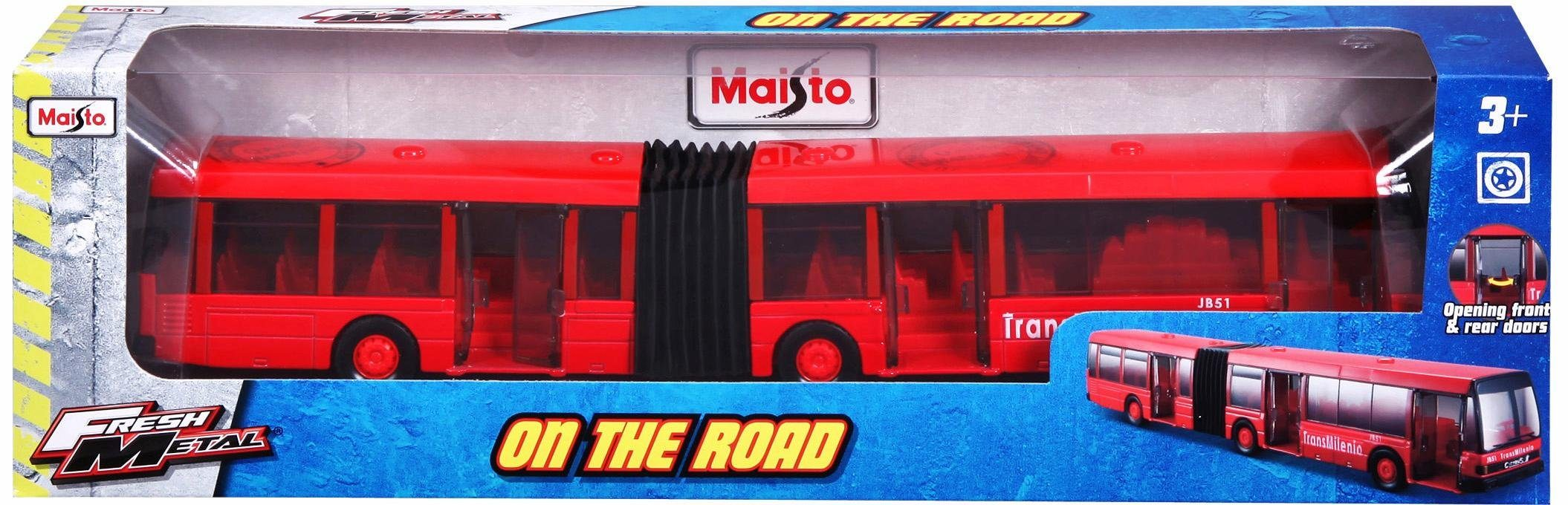 Maisto® Modellauto, »Fresh Metal Gelenkbus«