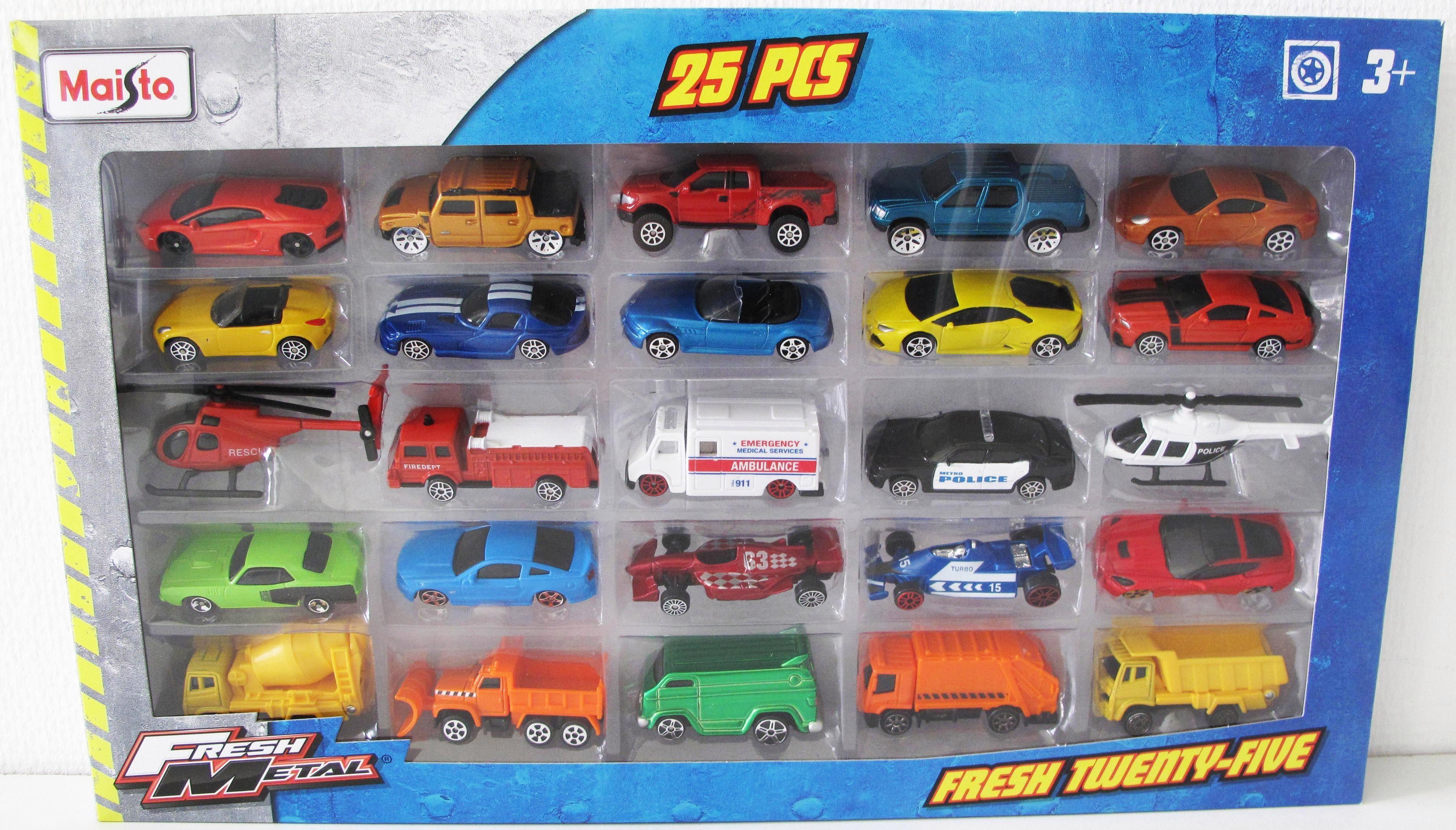 Maisto® Modellauto Set, »Fresh Metal Auto Set 25er«