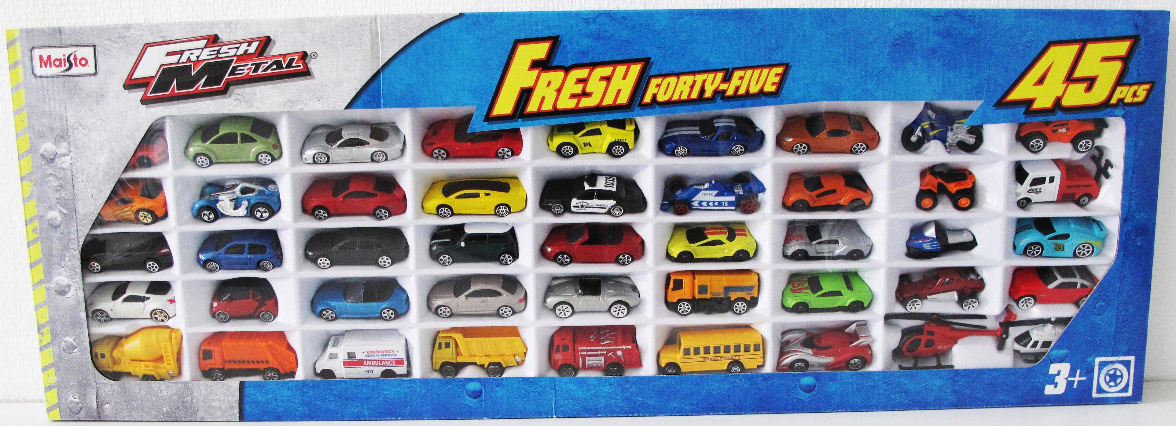 Maisto® Modellauto Set, »Fresh Metal Auto Set 45er«