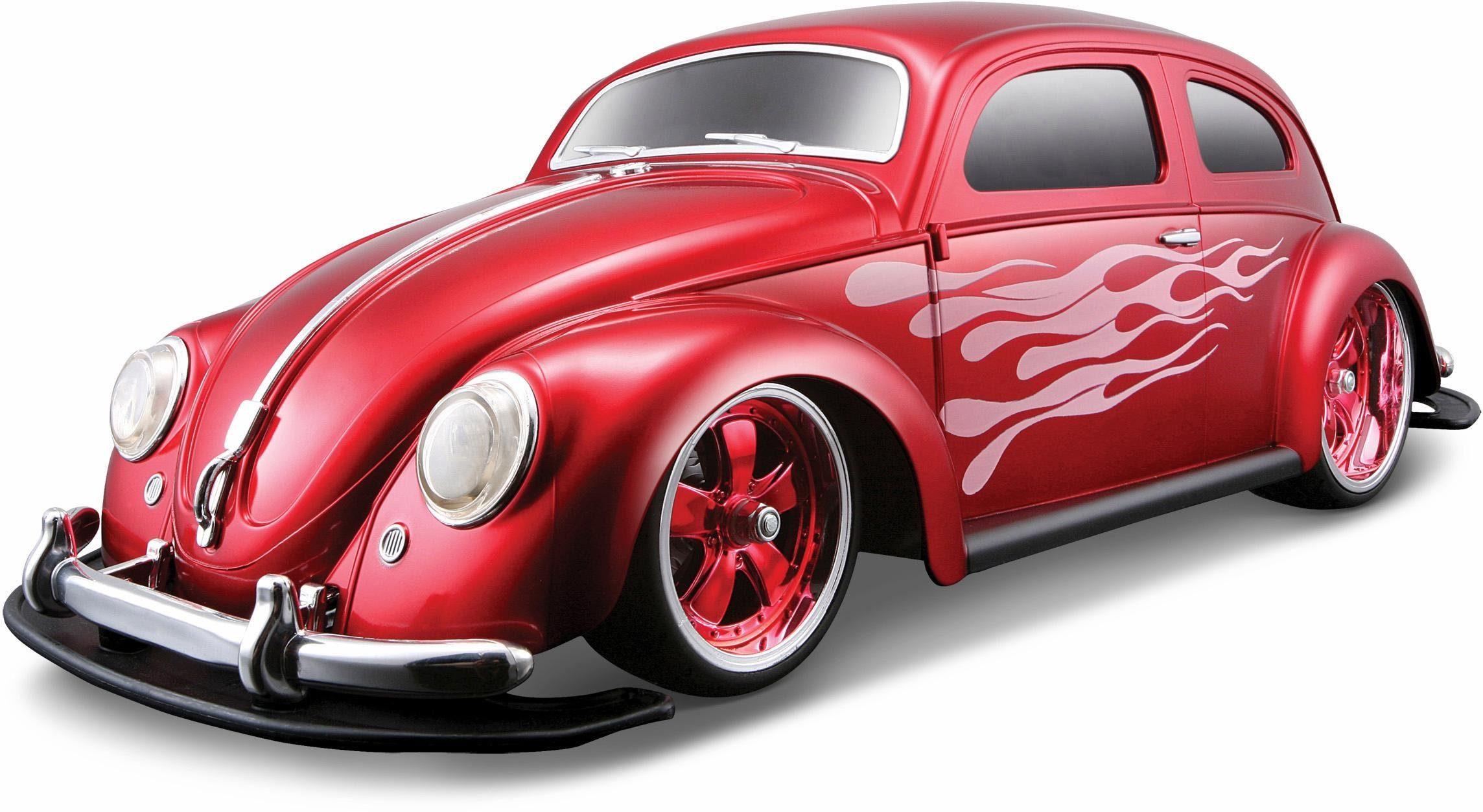 Maisto Tech® RC Komplett Set, »VW Käfer, 1:10, 2,4 GHz, rot«