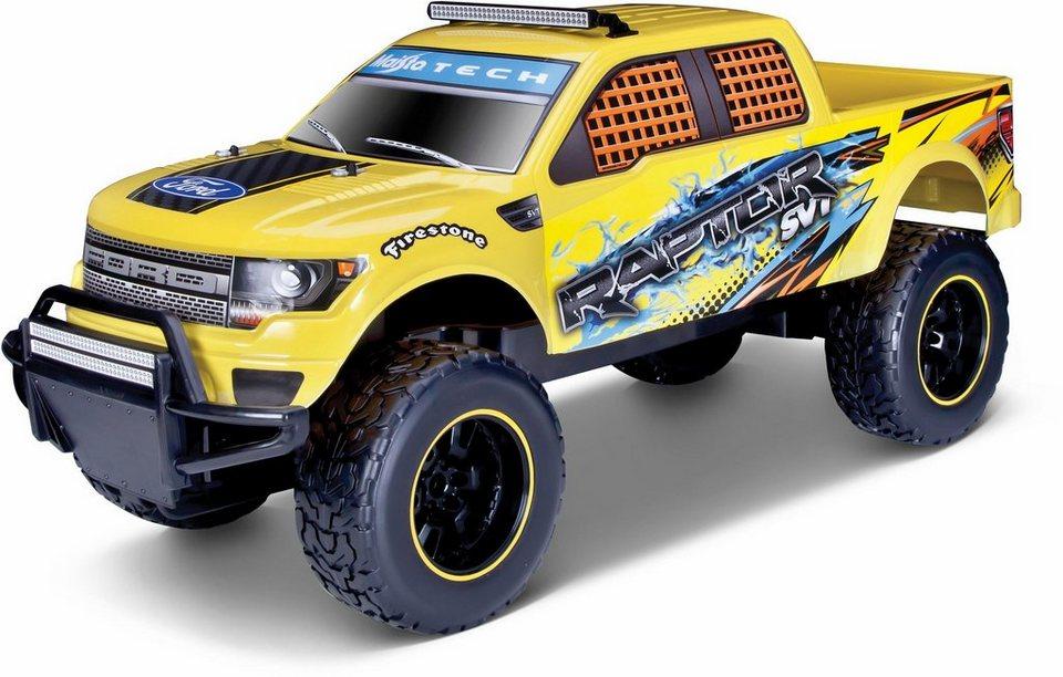 Maisto Tech® RC Auto,  Ford Raptor, 1:6, 2,4 GHz, gelb  online kaufen