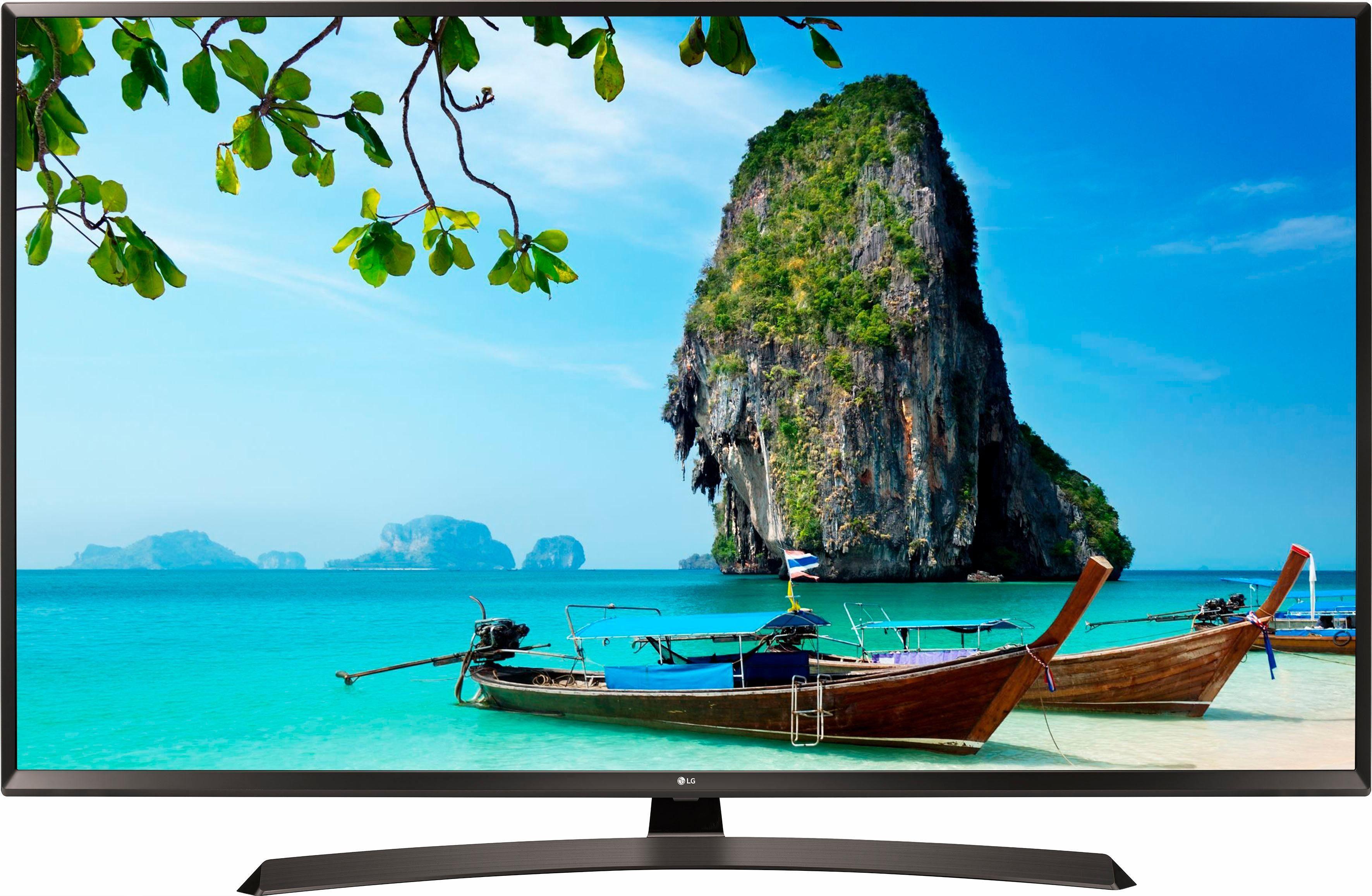 LG 55UJ634V LED-Fernseher (55 Zoll, 4K Ultra HD, Smart-TV)