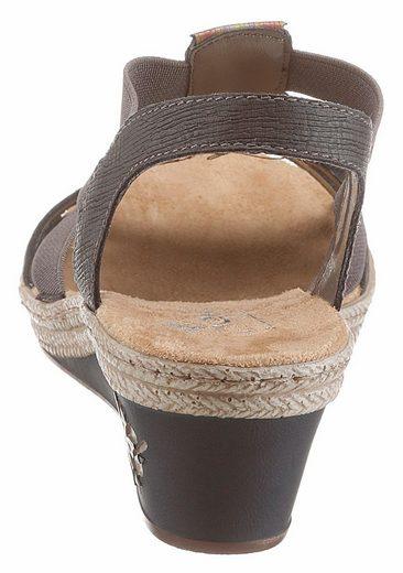 Rieker Sandalette, mit verzierenden Elementen