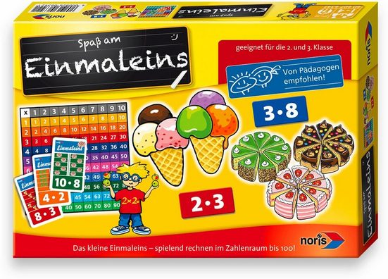 Noris Spiel, »Einmaleins«, Made in Germany
