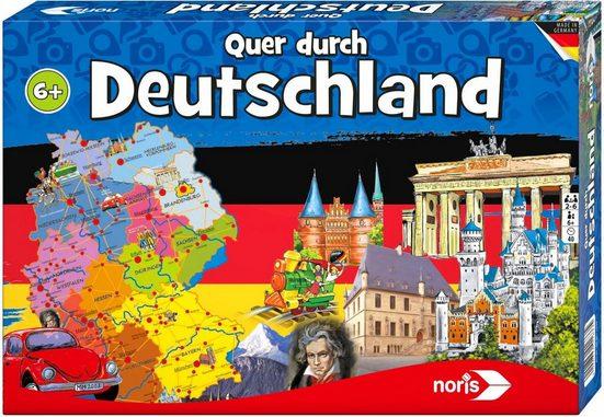 Noris Spiel, »Quer durch Deutschland«, Made in Germany