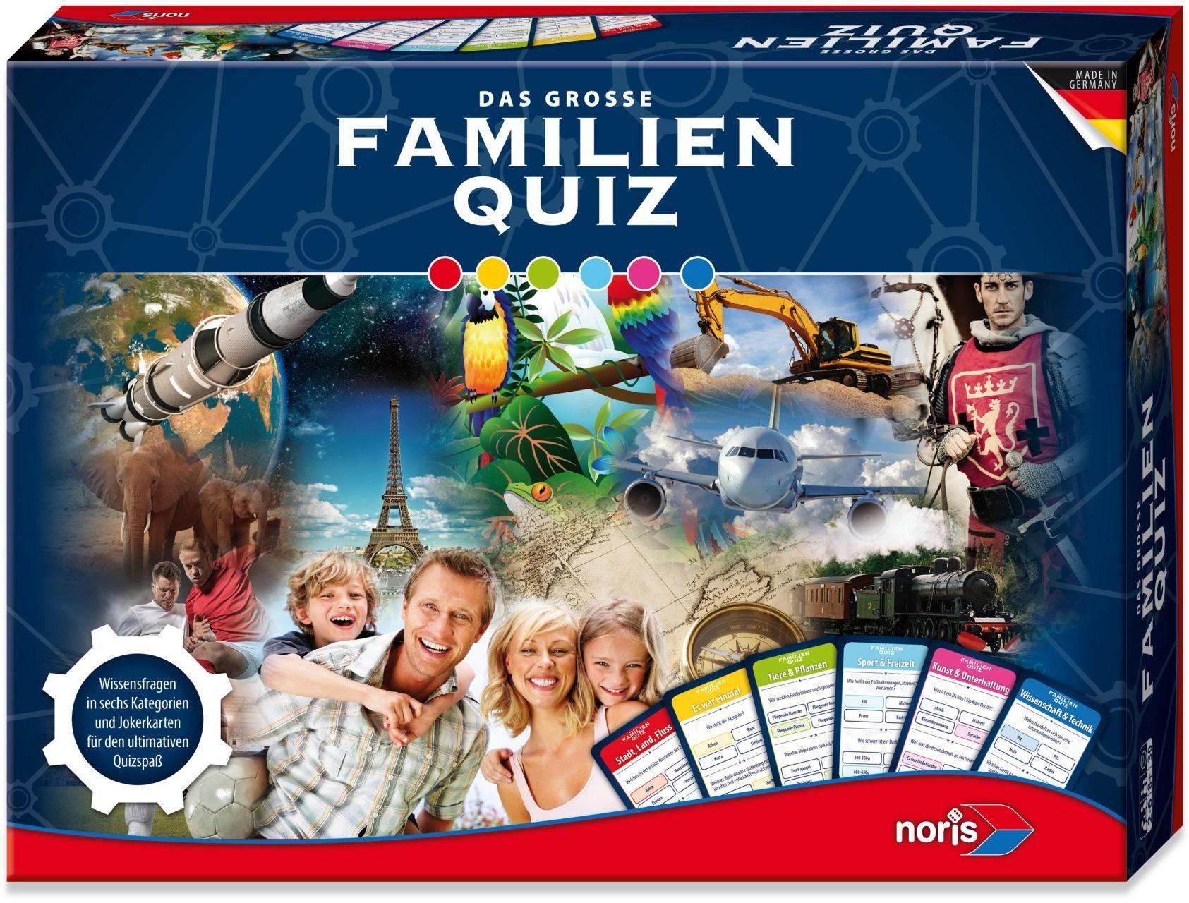 Noris Brettspiel, »Das große Familien Quiz«