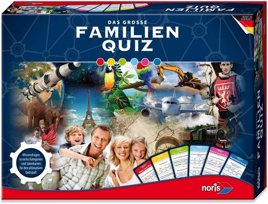 Noris Spiel, »Das große Familien Quiz«, Made in Germany