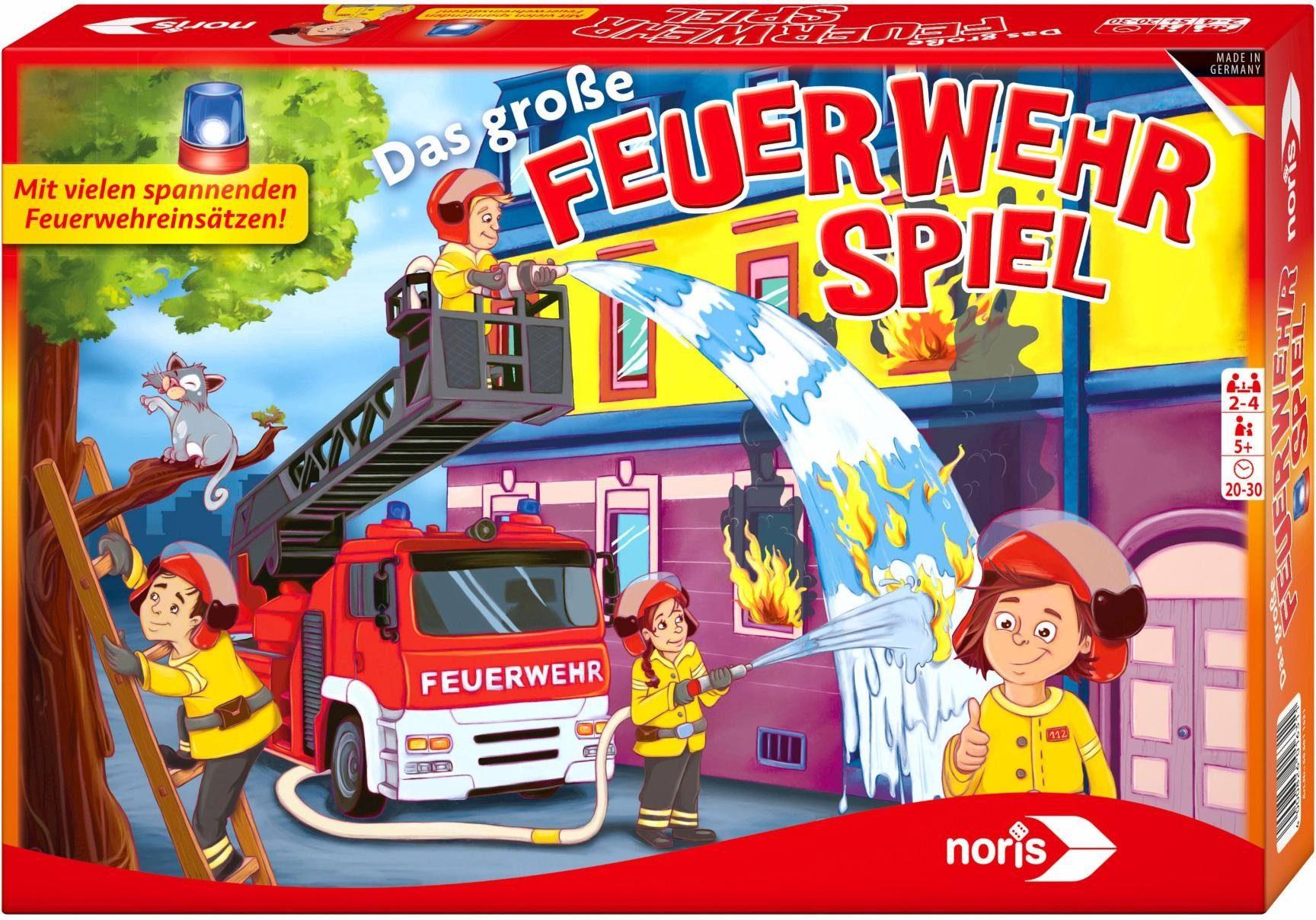 Noris Brettspiel, »Das große Feuerwehrspiel«