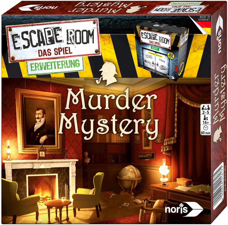 Noris Gesellschaftsspiel, »Escape Room: Murder Mystery«