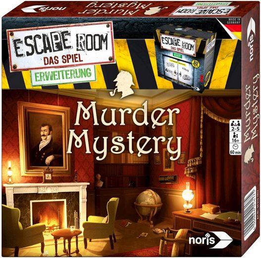 Noris Spiel, »Erweiterungsspiel, Escape Room: Murder Mystery«, Made in Germany