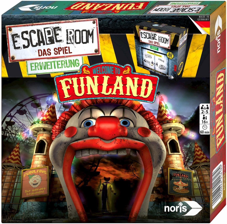 Noris Gesellschaftsspiel, »Escape Room: Funland«