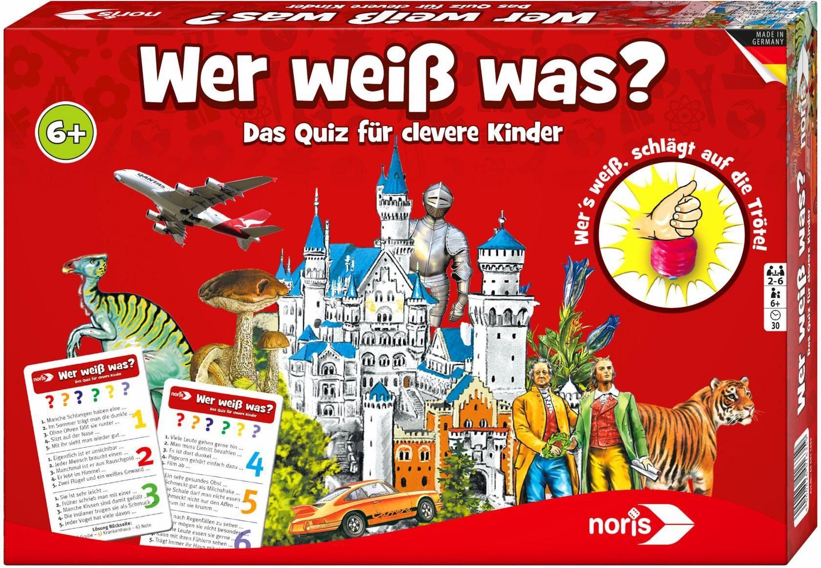 Noris Quizspiel, »Wer weiß was?«