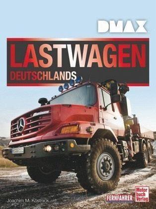 Gebundenes Buch »DMAX Lastwagen Deutschlands«