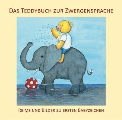 Buch mit Papp-Einband »Das Teddybuch zur Zwergensprache«