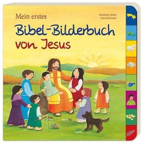 Buch mit Papp-Einband »Mein erstes Bibel-Bilderbuch von Jesus«