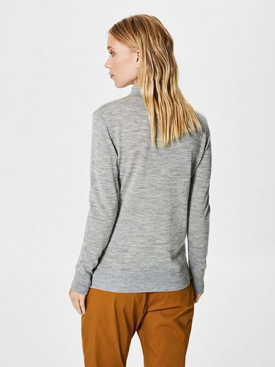 Selected Femme Merinowoll- Strickpullover