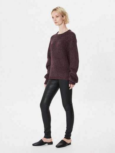 Selected Femme In lockerer Passform geschnittener Strickpullover
