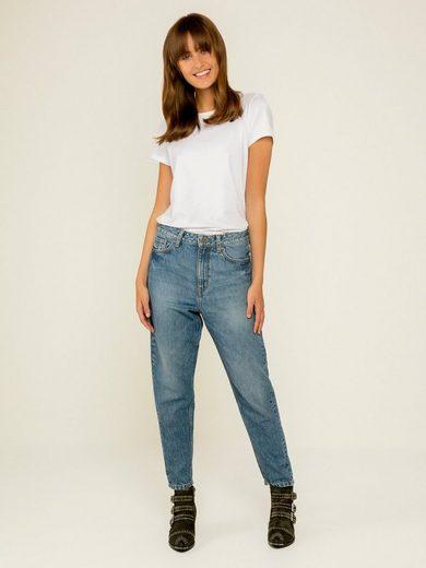 Pieces High Waist Mom Jeans