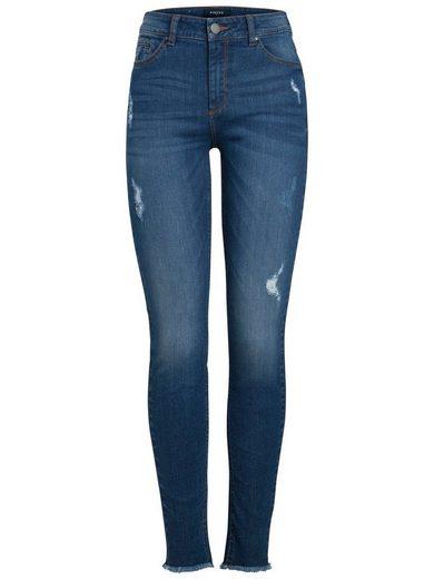 Pieces Slim Fit Ankle Jeans