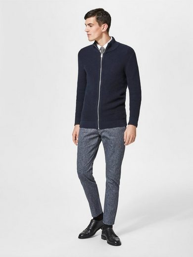 Selected Homme Zip Knit-cardigan