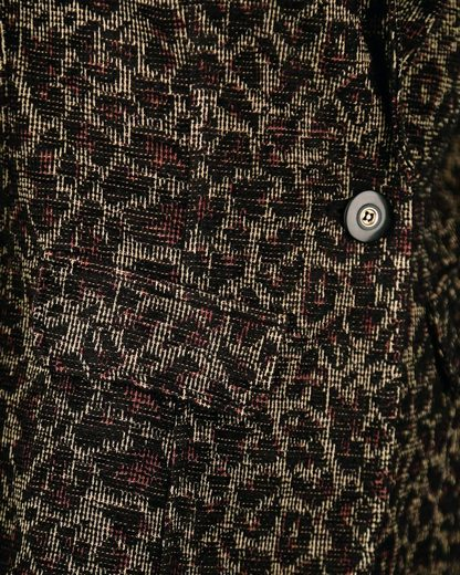 Maze Textilblazer Mit Leoprint Mt17-220