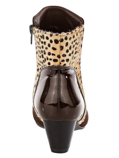 Liva Loop Ankle Boot With Textile Use In Leo-optic