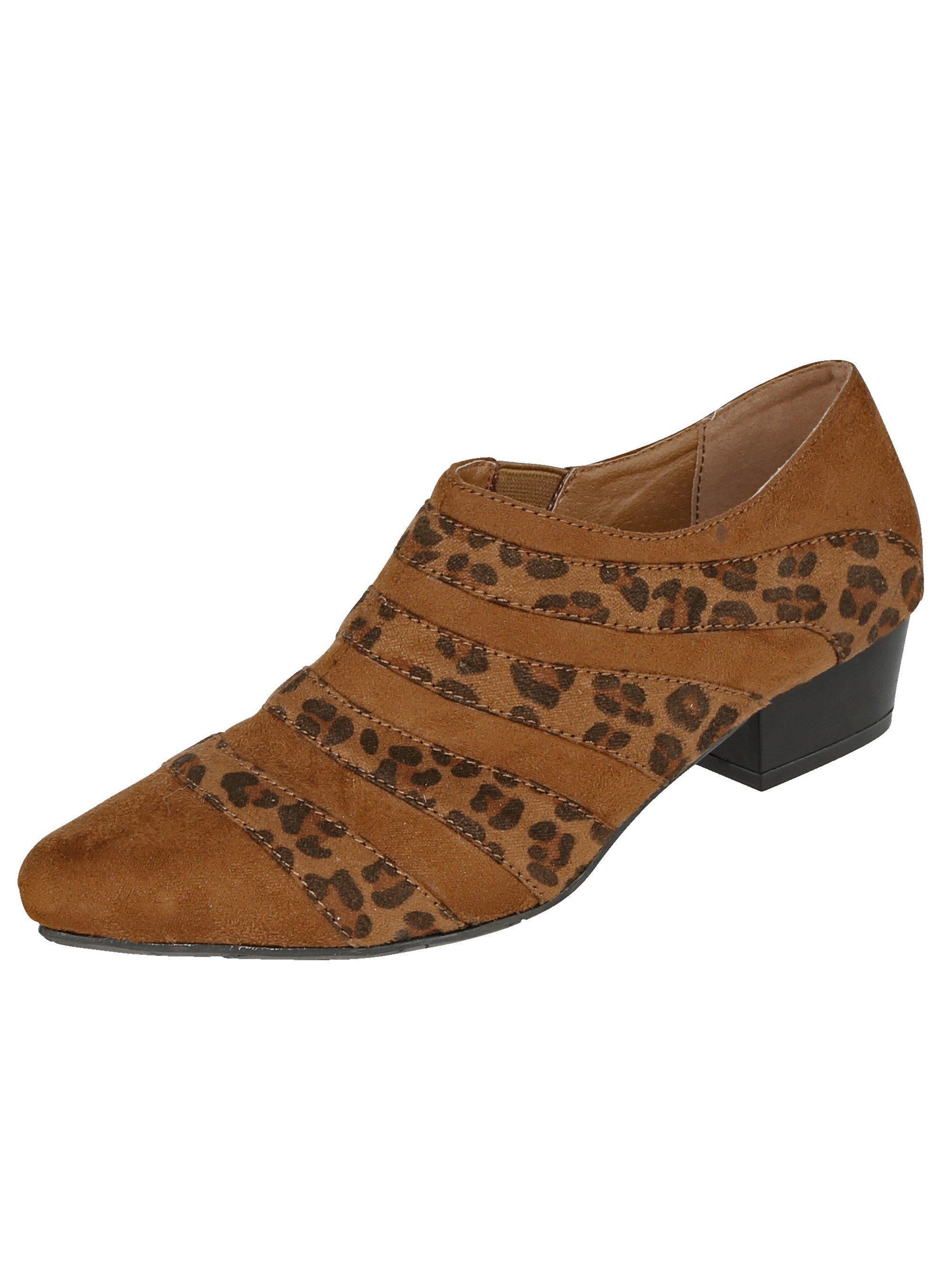 Liva Loop Ankle Boot in spitzer Silhouette kaufen  hellbraun#ft5_slash#leo
