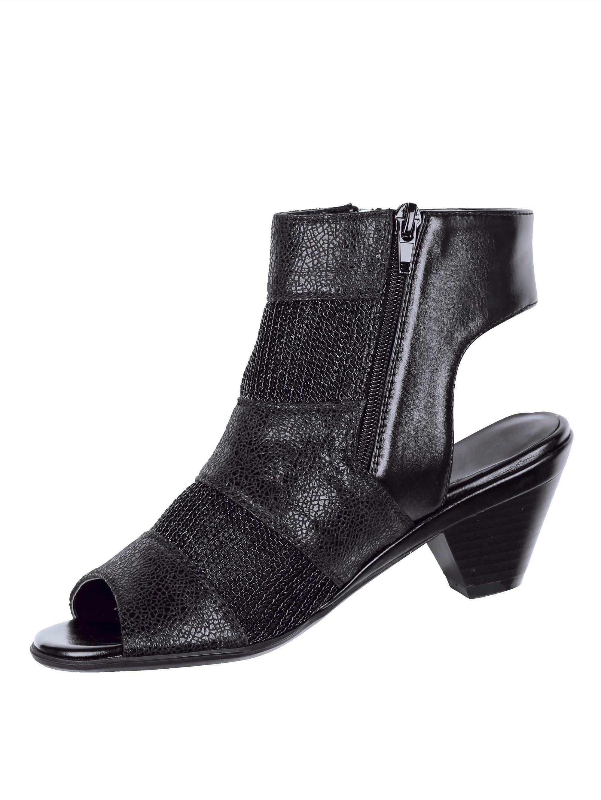 Liva Loop Sandale mit luftdurchlässigen Mesheinsätzen online kaufen  schwarz