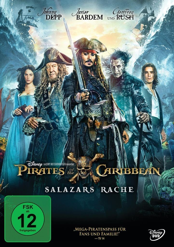 Disney DVD - Film »Pirates of the Caribbean: Salazars Rache«