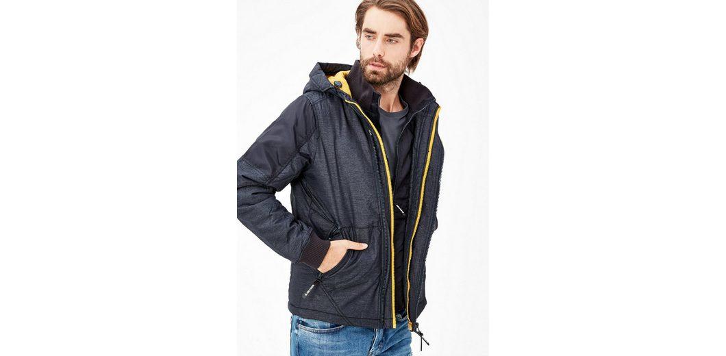 s.Oliver RED LABEL Warme Outdoor-Jacke mit Fleecefutter Günstige Rabatte wvueYr