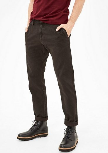 s.Oliver RED LABEL Sneck Slim: Chino mit Strukturmuster