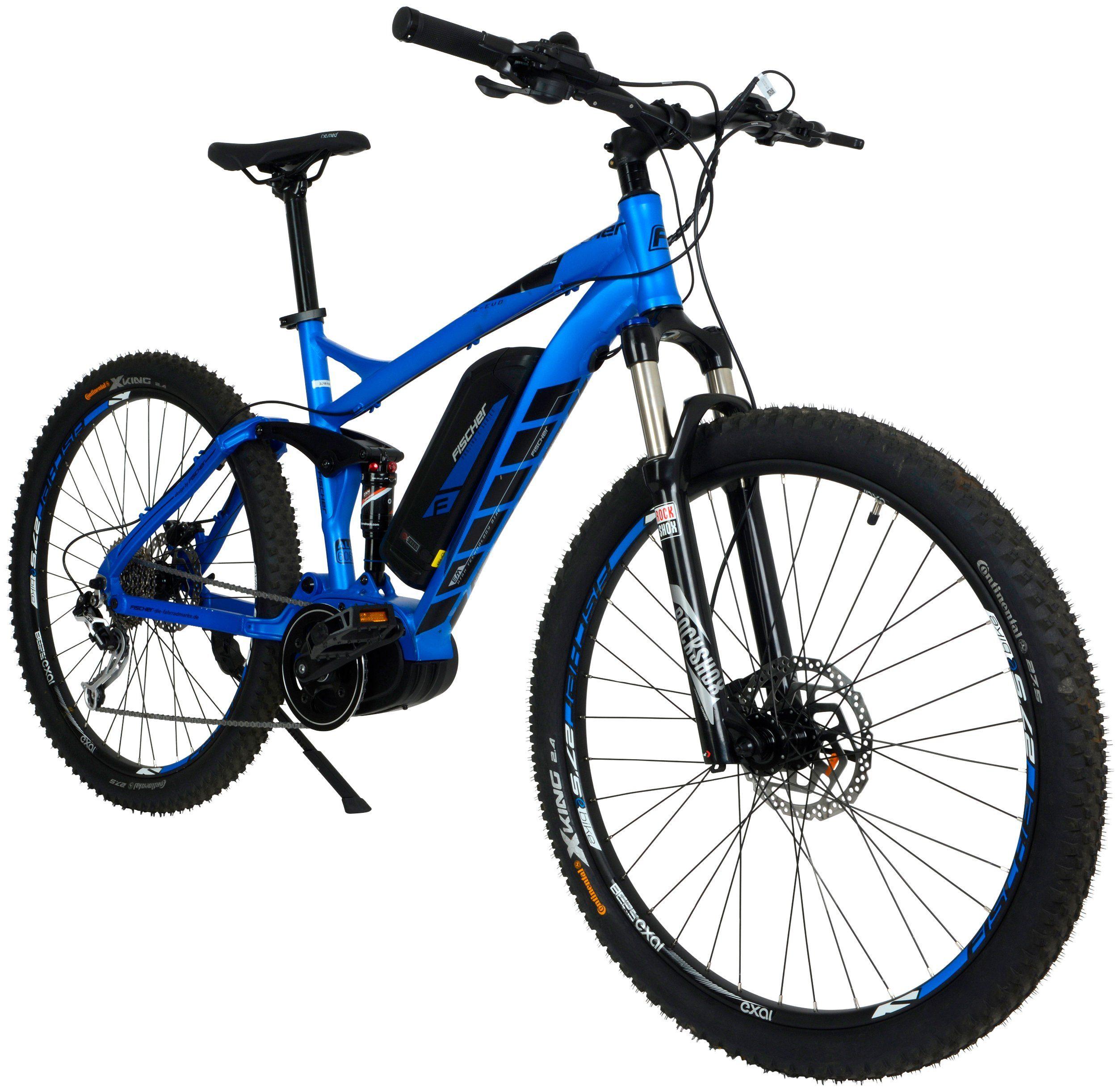 FISCHER FAHRRAEDER E-Bike Mountainbike »EM1862«, 27,5 Zoll, 9 Gänge, 557 Wh, BAFANG MaxDrive