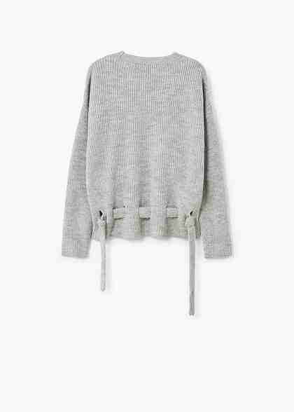 MANGO Knit belt sweater