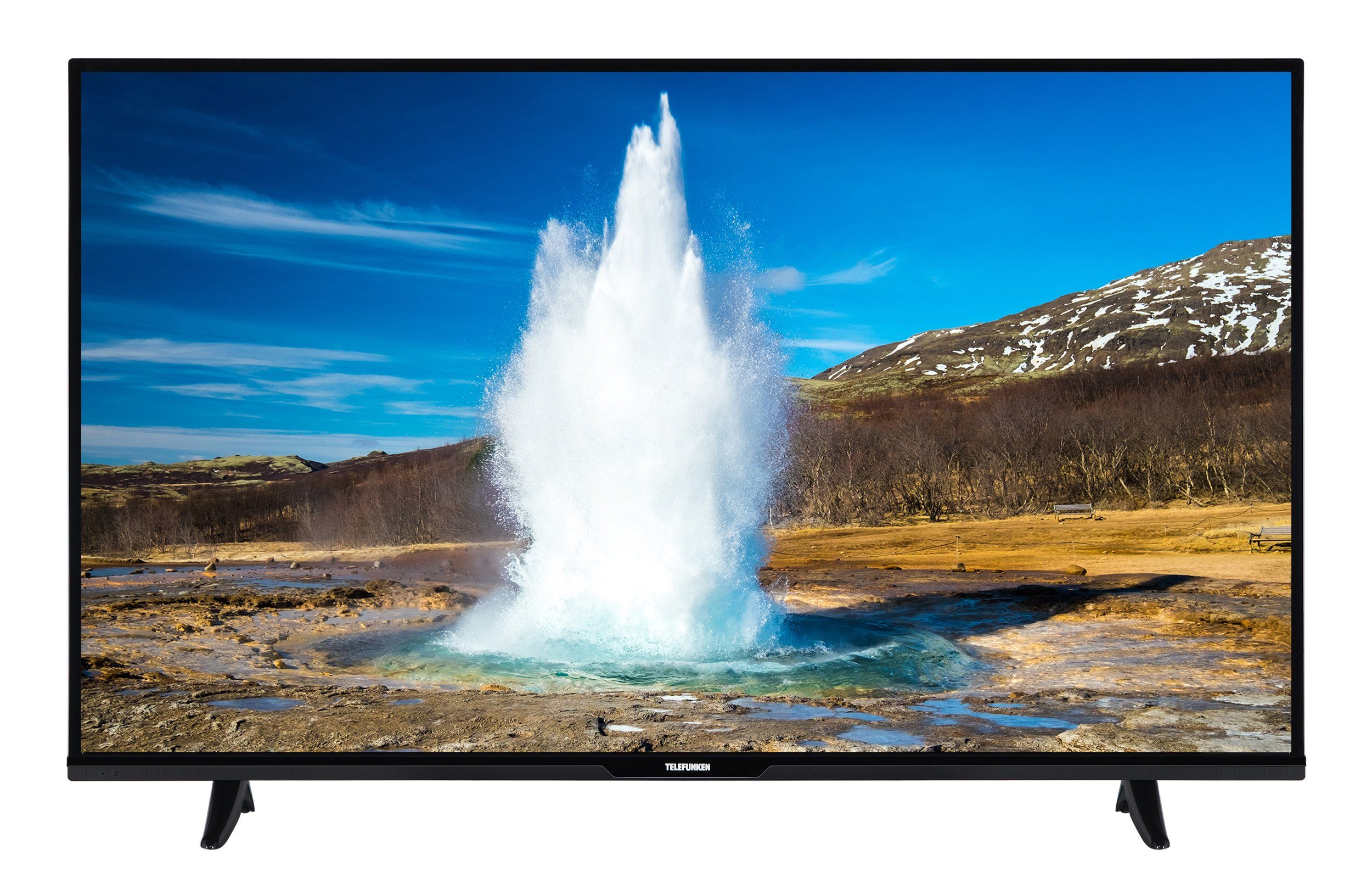 Telefunken LED-Fernseher (55 Zoll, Full HD, SmartTV, DVB-T2 HD) »XF55D401«