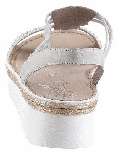 Rieker Sandalette, mit komfortablem Gummizug