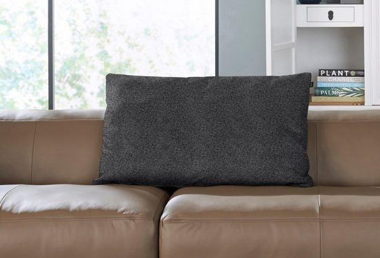hülsta sofa Rückenkissen »hs.432«, mit Rolle wahlweise in Stoff oder Leder