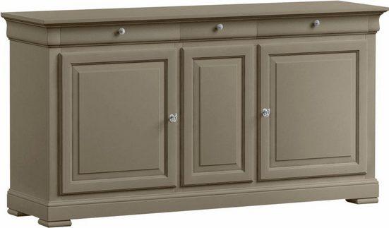 SELVA Sideboard »Constantia«, Modell 7501, furniert in vier schönen Holzfarben
